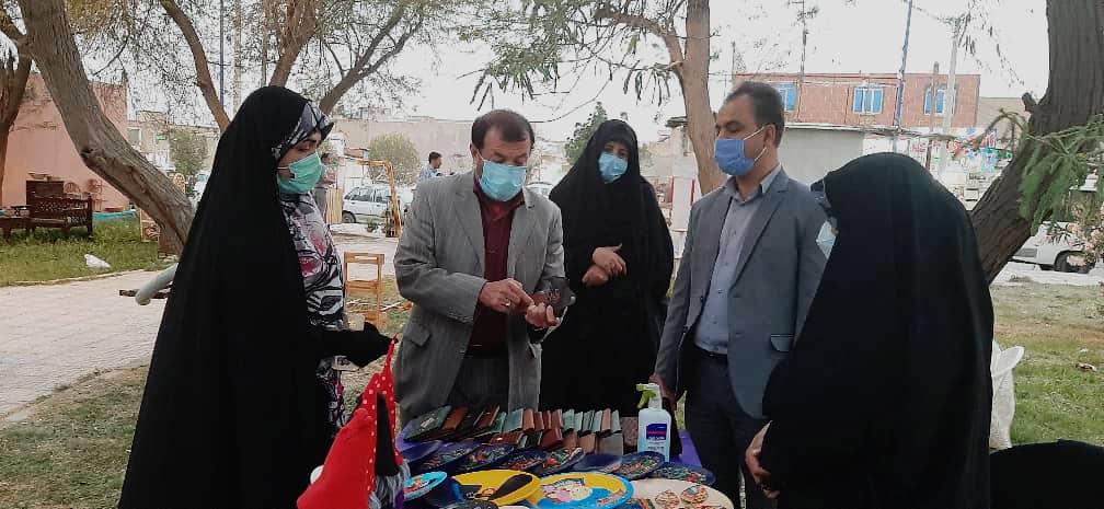 برپایی نمایشگاه نوروزی صنایع دستی در بوستانی به همین نام در خرمشهر